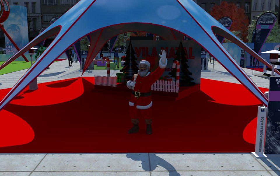 Vila de Natal - photo point pai natal